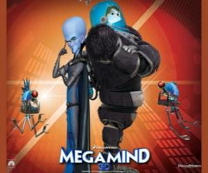 Megamind with Minion, the fish wise puzzle