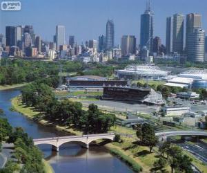 Melbourne, Australia puzzle