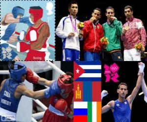 Men's flyweight boxing London 2012 puzzle