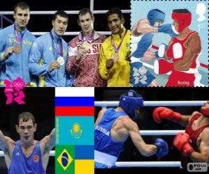Men's middleweight boxing London 2012 puzzle