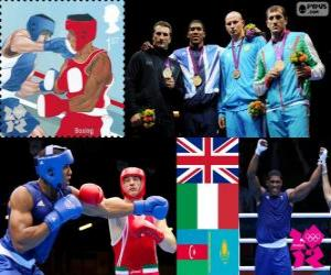 Men's super heavyweight boxing LDN12 puzzle