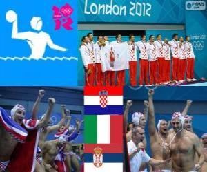 Men's water polo London 2012 puzzle