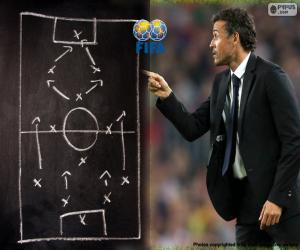 Men's World Coach FIFA 2015 puzzle