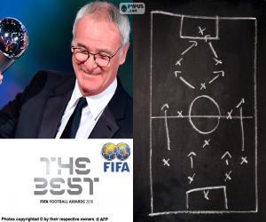 Men's World Coach FIFA 2016 puzzle