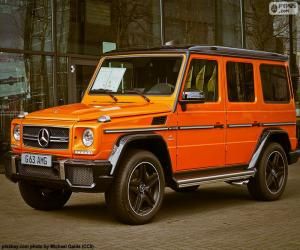 Mercedes-AMG G 63 puzzle