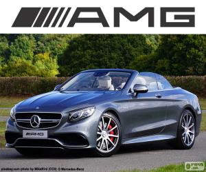 Mercedes-AMG S 63 Cabriolet puzzle