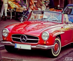 Mercedes-Benz 190SL (1955-1963) puzzle