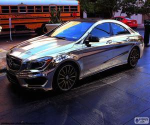 Mercedes chrome puzzle