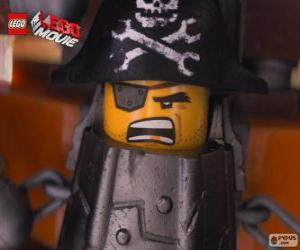 Metal Beard, a pirate who wants to take revenge on Lord Business puzzle