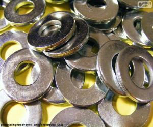 Metal washers puzzle