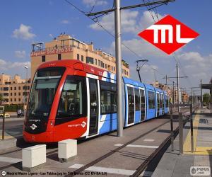 Metro Ligero de Madrid puzzle
