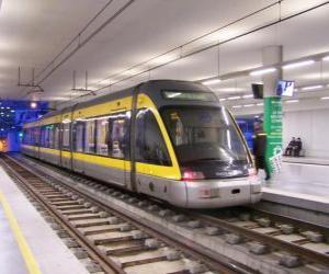 Metro - Subway - Underground puzzle