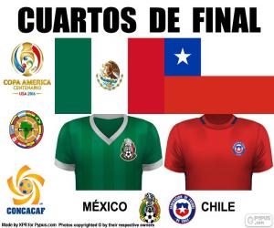 MEX - CHI, Copa America 2016 puzzle