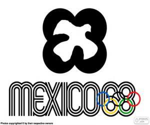 Mexico 1968 Olympics puzzle