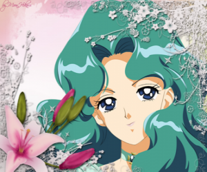 Michiru Kaioh or Michelle Kaioh becomes Sailor Neptune  puzzle