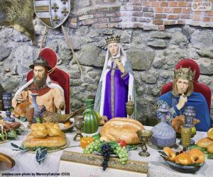 Middle Ages Banquet puzzle