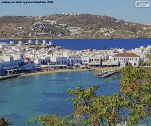 Mikonos, Greece puzzle