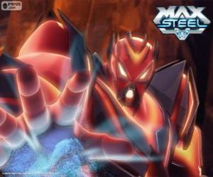 Miles Dredd, the greatest enemy of Max Steel puzzle