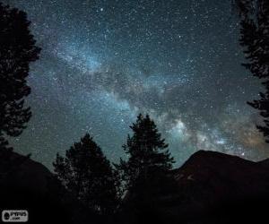 Milky way puzzle