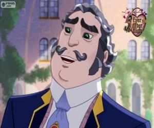 Milton Grimm is one of the founders of Ever After High puzzle