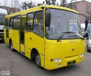 Minibus Isuzu Bogdan A092 puzzle