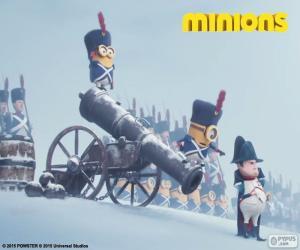 Minions and Napoleon puzzle