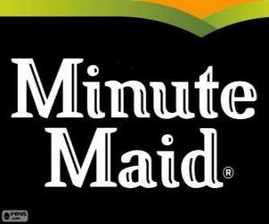 Minute Maid logo puzzle