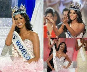Miss World 2011 Ivian Lunasol puzzle