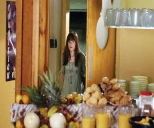 Mitchie Torres (Demi Lovato) in Camp Rock puzzle