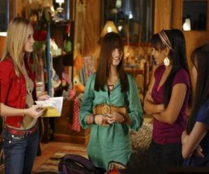 Mitchie Torres (Demi Lovato) by Tess Tyler (Meaghan Jette Martin) and Margaret  puzzle