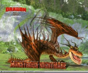 Monstrous Nightmare, the most ferocious and feared dragon  puzzle
