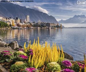 Montreux, Switzerland puzzle