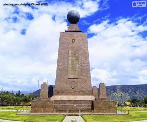 Monument to the Middle of the World, Ecuador puzzle