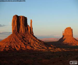 Monument Valley, United States puzzle