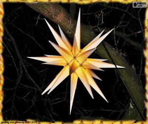 Moravian star puzzle