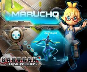 Morucho and Akwimos his new guardian Bakugan puzzle