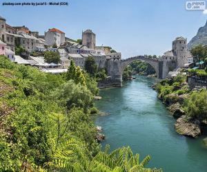 Mostar, Bosnia and Herzegovina puzzle