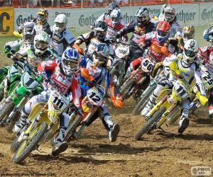 Motocross career puzzle