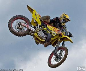 Motocross jump puzzle