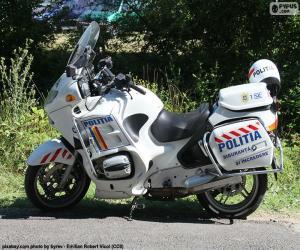 Motorbike police, Romania puzzle