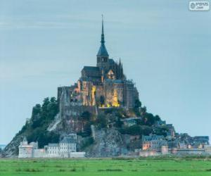 Mount Saint-Michel, France puzzle