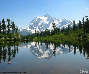 Mount Shuksan, Washington puzzle