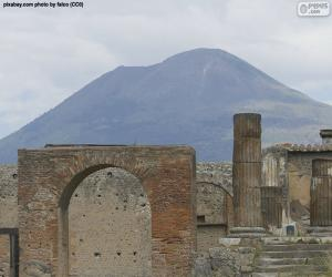 Mount Vesuvius puzzle
