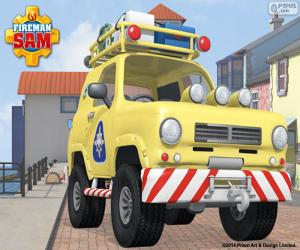 Mountain Rescue 4x4 the Tom Fireman Sam puzzle