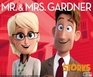 Mr. and Mrs. Gardner, Storks puzzle
