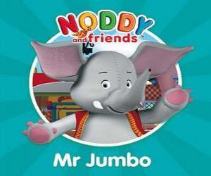 Mr. Jumbo the elephant puzzle