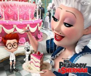 Mr. Peabody and Sherman in France puzzle