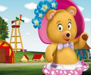 Mrs Tubby Bear the neighbour of Noddy puzzle