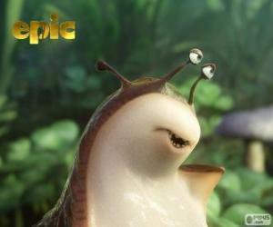 Mub, a slug from a secret world puzzle