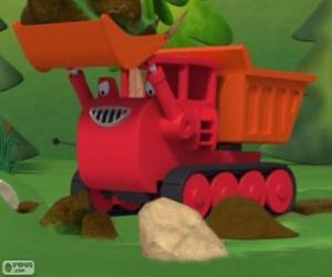 Muck, the bulldozer puzzle